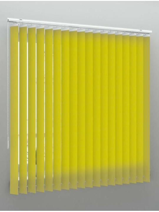Вертикальные тканевые жалюзи Лайн II желтый