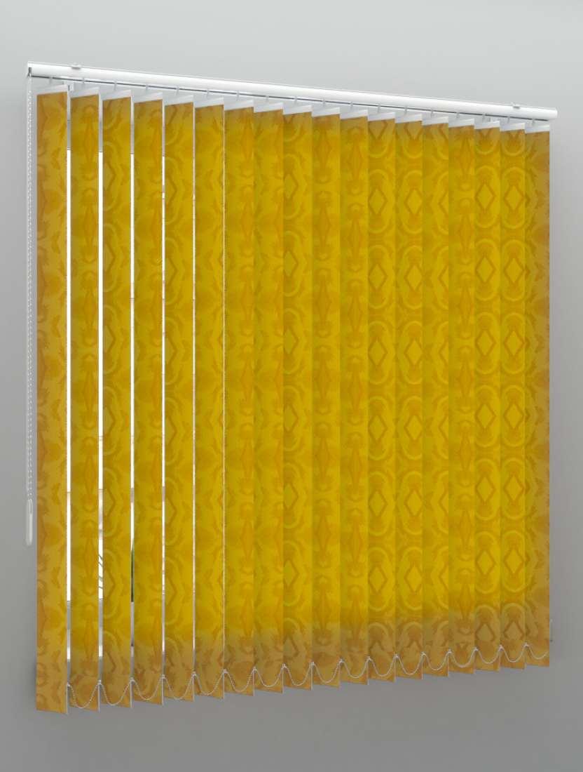Вертикальные тканевые жалюзи Рио карамель