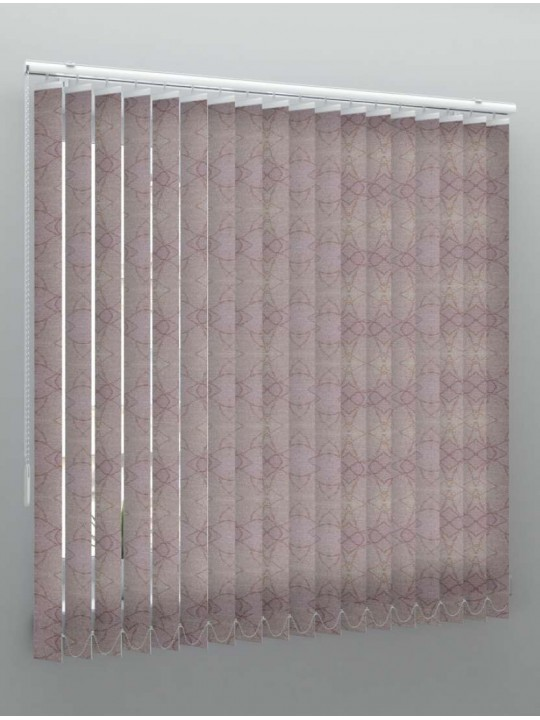 Вертикальные тканевые жалюзи Саванна коричневый