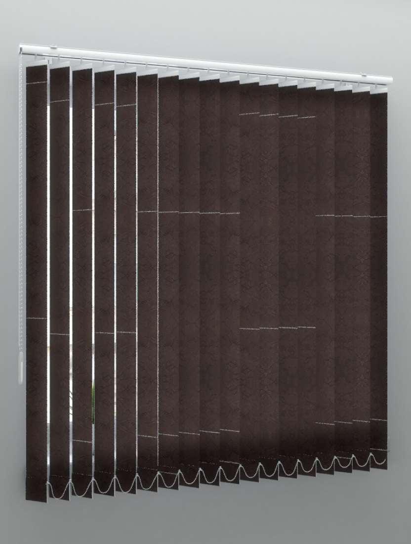 Вертикальные тканевые жалюзи Шёлк черный