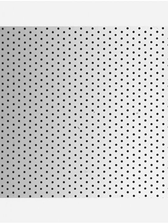 Вертикальные алюминиевые жалюзи Перфорация металлик 7005