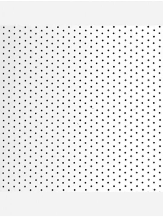 Вертикальные алюминиевые жалюзи Перфорация белый глянец