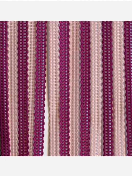 Вертикальные веревочные жалюзи Бриз Multi сиреневый