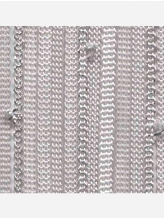 Вертикальные веревочные жалюзи Бриз Multi серебристый