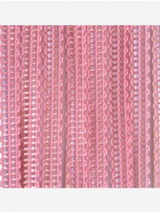 Вертикальные веревочные жалюзи Бриз розовый
