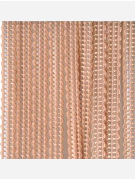 Вертикальные веревочные жалюзи Бриз персиковый