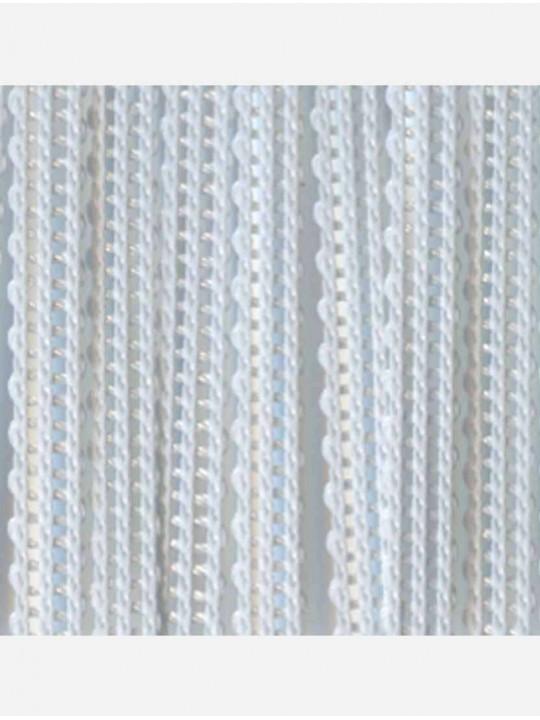 Вертикальные веревочные жалюзи Бриз голубой