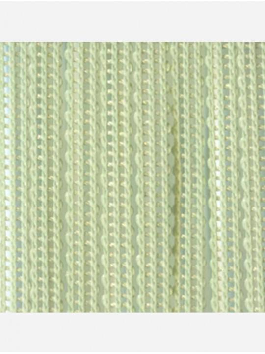 Вертикальные веревочные жалюзи Бриз светло-зеленый