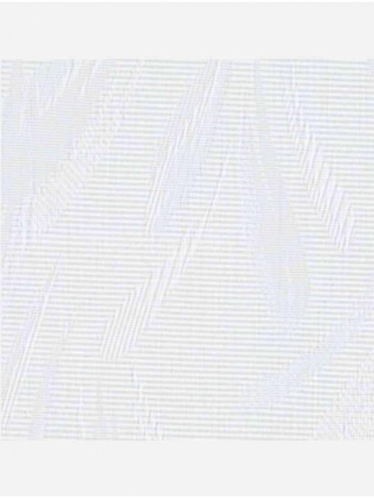 Вертикальные тканевые жалюзи Джангл белый