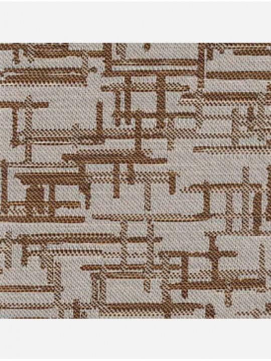 Вертикальные тканевые жалюзи Маис коричневый