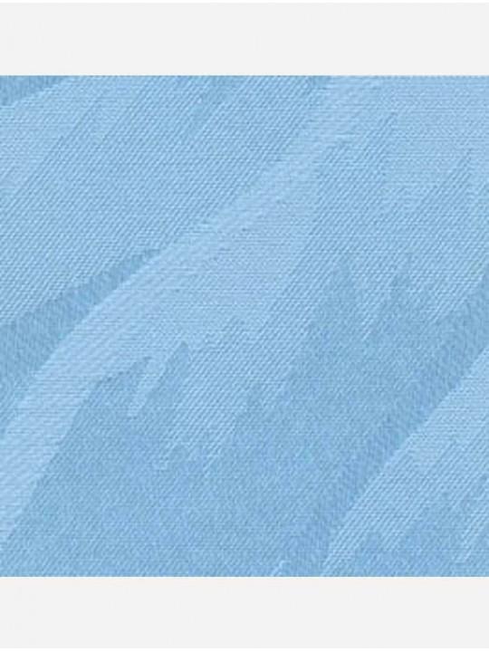 Вертикальные тканевые жалюзи Рио голубой