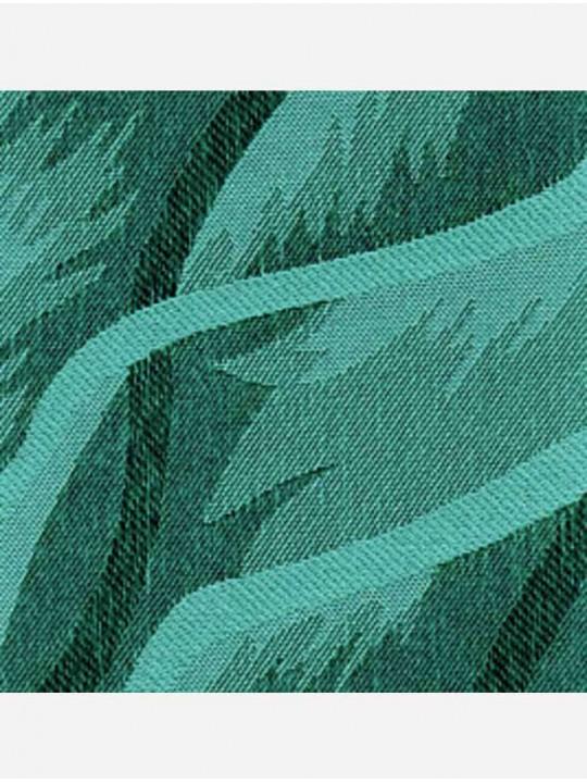 Вертикальные тканевые жалюзи Рио темно-зеленый