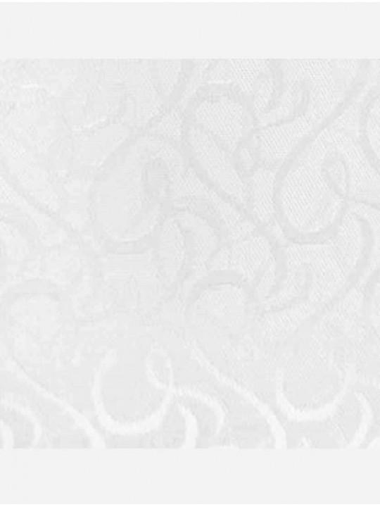 Вертикальные тканевые жалюзи Рококо белый