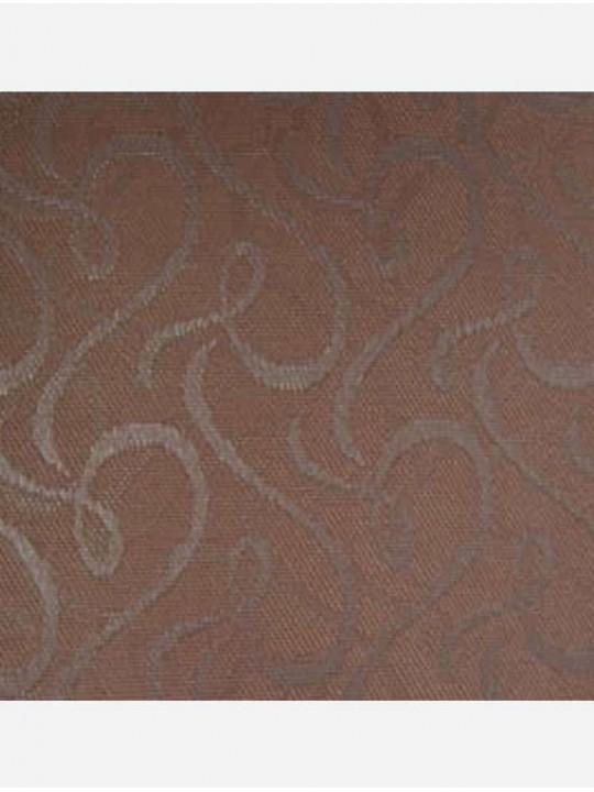 Вертикальные тканевые жалюзи Рококо темно-бежевый