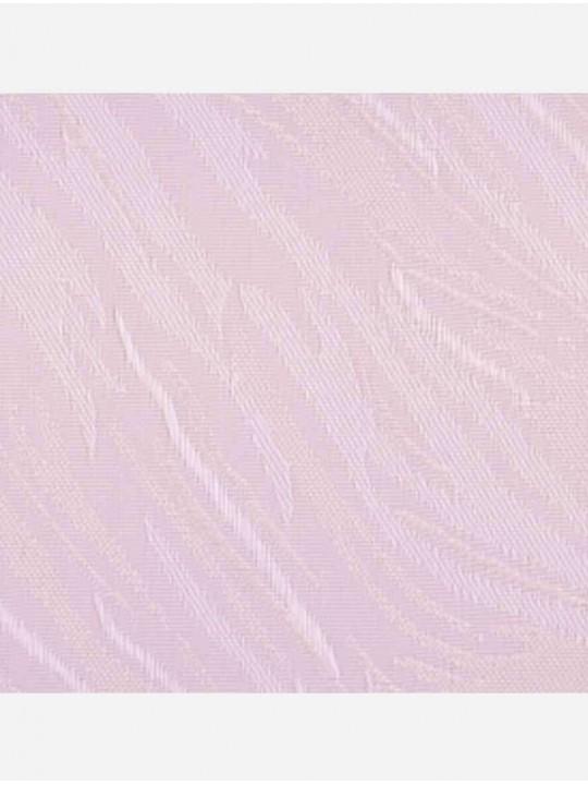 Вертикальные тканевые жалюзи Венера светло-розовый