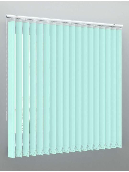 Вертикальные пластиковые жалюзи Рибкорд зеленый