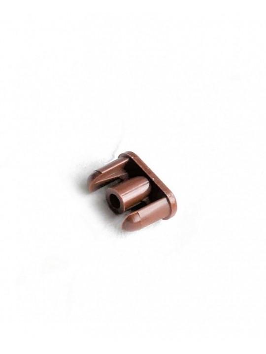 Заглушка нижнего карниза (ГКС), коричневая