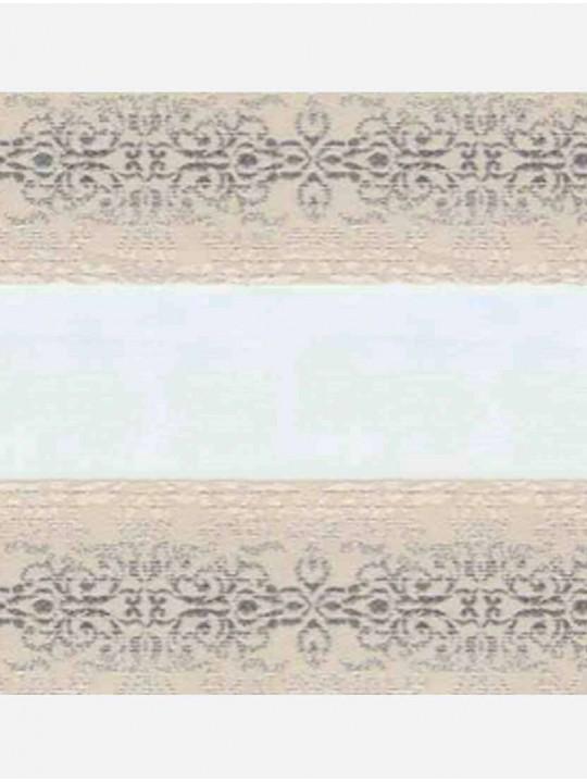 Рулонные жалюзи Зебра Уни-2 Арабеска магнолия