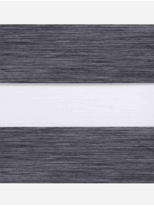Рулонные жалюзи Зебра Уни-2 Монтана графит