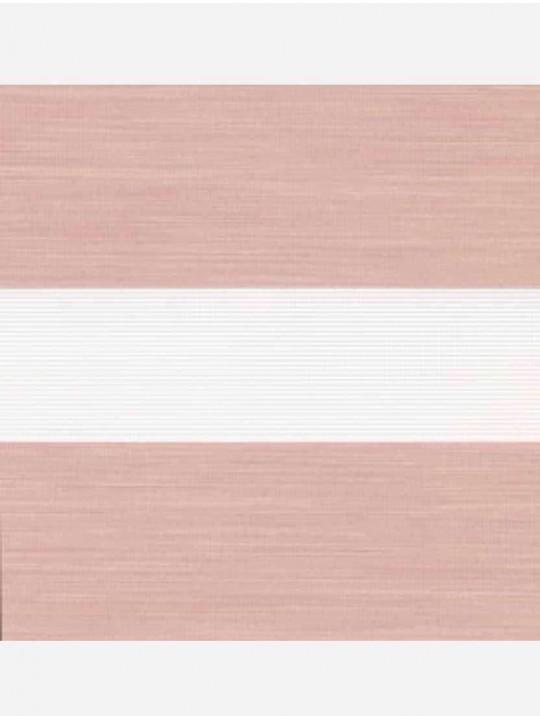 Рулонные жалюзи Зебра Уни-2 Монтана розовый