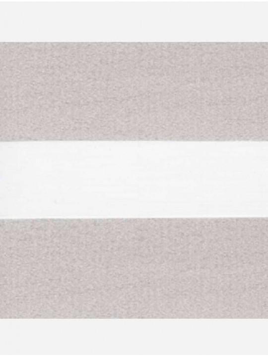 Рулонные жалюзи Зебра мини Палас светло-бежевый