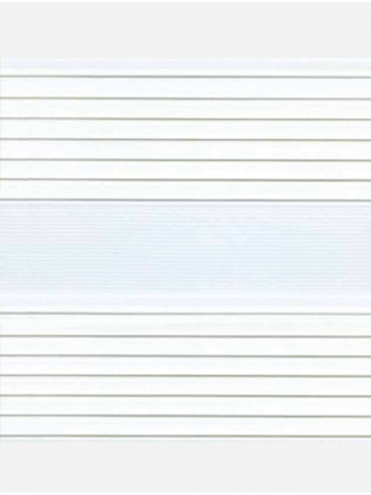 Рулонные жалюзи Зебра-MGS Парма белый