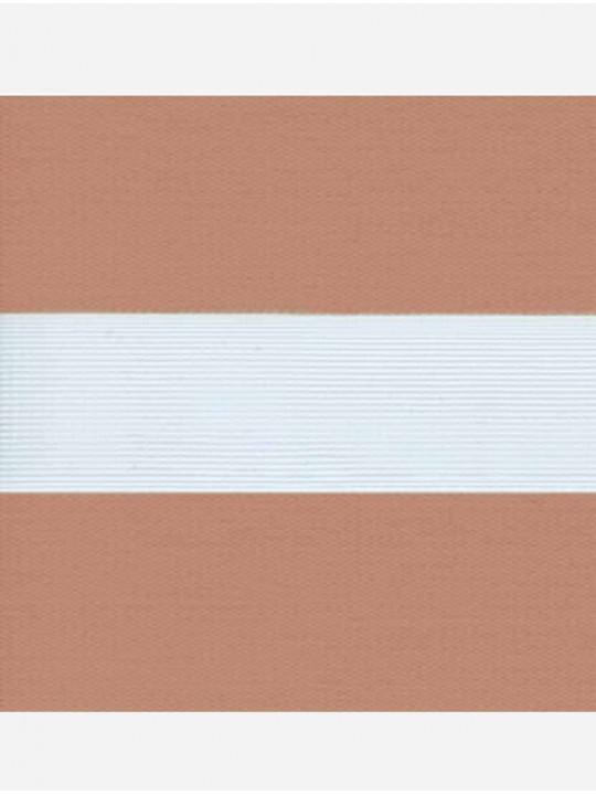 Рулонные жалюзи Зебра Уни-2 Софт светло-коричневый