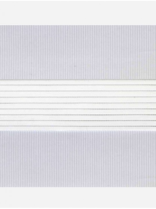 Рулонные жалюзи Зебра-MGS Стандарт светло-серый