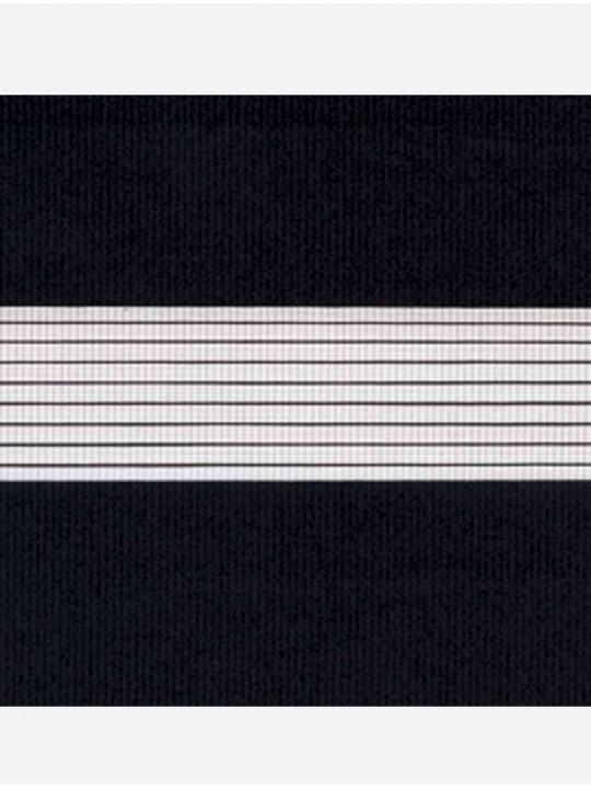Рулонные жалюзи Зебра Уни-2 Стандарт черный