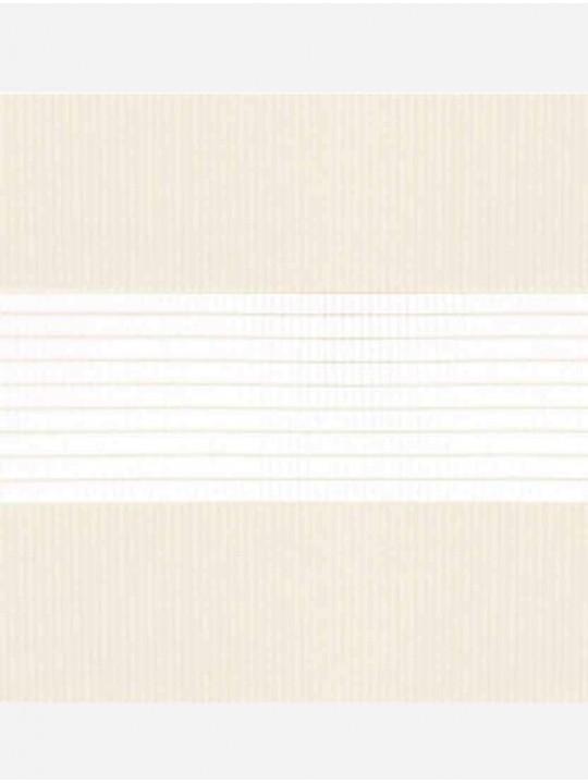 Рулонные жалюзи Зебра Уни-2 Стандарт светло-бежевый