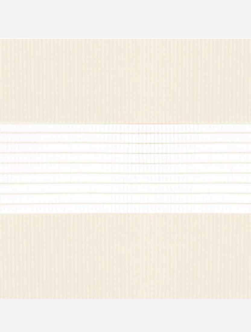 Рулонные жалюзи Зебра мини Стандарт светло-бежевый