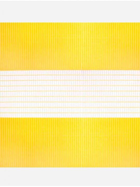 Рулонные жалюзи Зебра Уни-1 Стандарт желтый