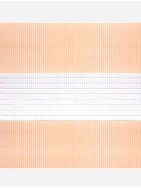 Рулонные жалюзи Зебра Уни-2 Стандарт персик