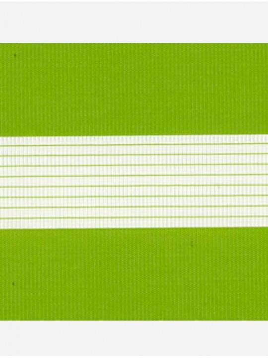 Рулонные жалюзи Зебра-MGS Стандарт светло-зеленый