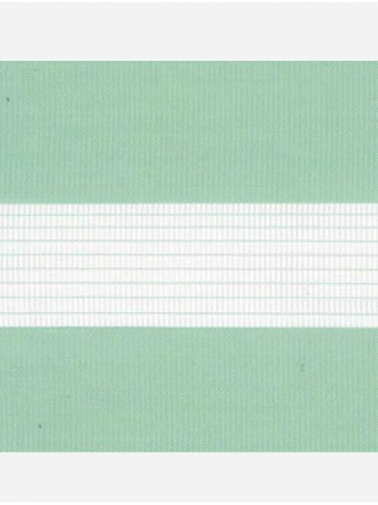 Рулонные жалюзи Зебра Уни-2 Стандарт бирюза