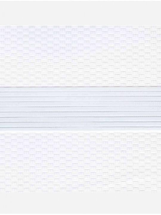 Рулонные жалюзи Зебра Уни-2 Тетрис белый