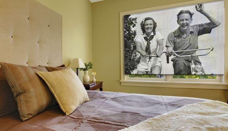 Рулонные шторы с фотопечатью: как сделать рекламу бренда, защитить помещение от солнца и украсить интерьер